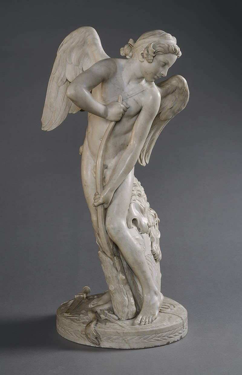 259db322 800px edme bouchardon cupid 1744 nga 41708 - The origin of Valentine's Day and how it evolved over the years